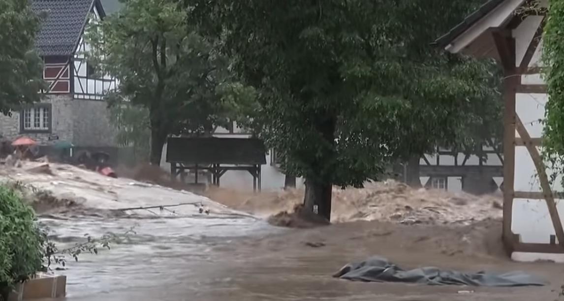 Hochwasserkatastrophe im Westen Deutschlands
